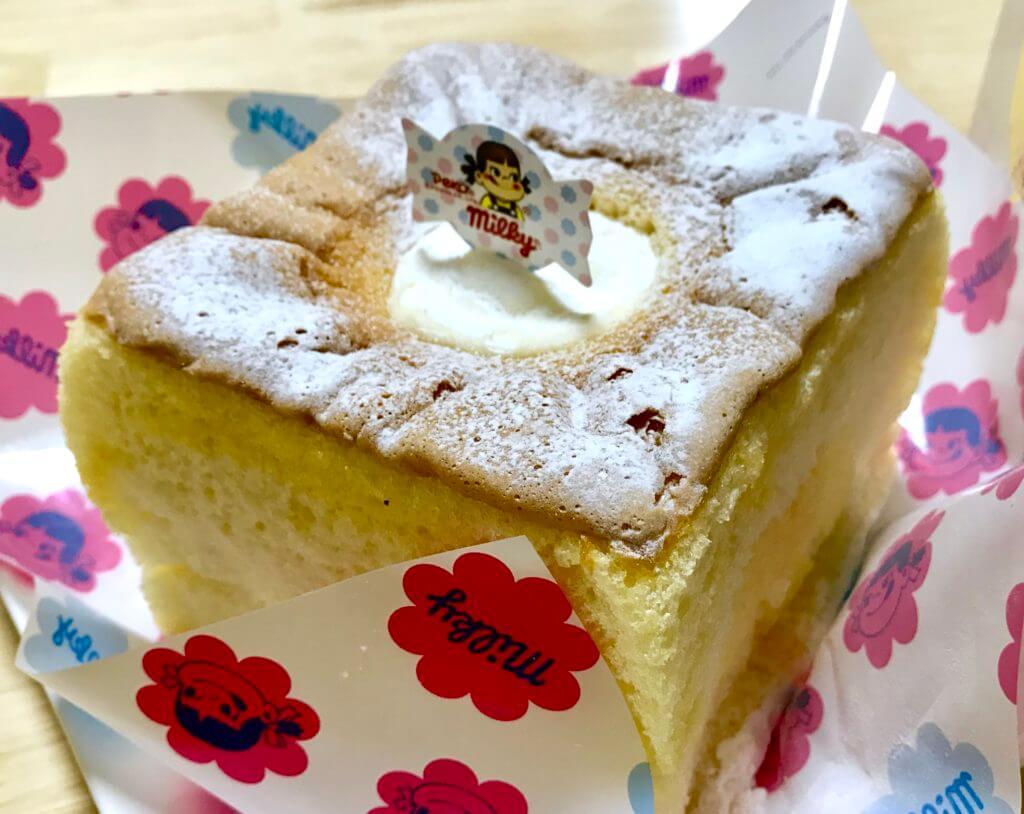 ミルキークリームシフォンケーキ